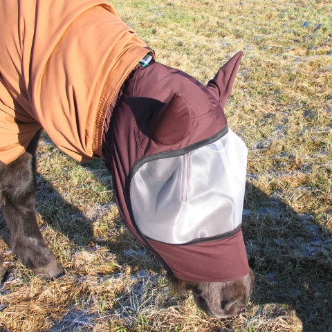 EINHORN Hood/Mask brown